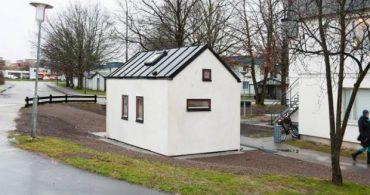広い家は必要ない?ちっちゃくて可愛い学生ハウス「Smallest House in Sweden」