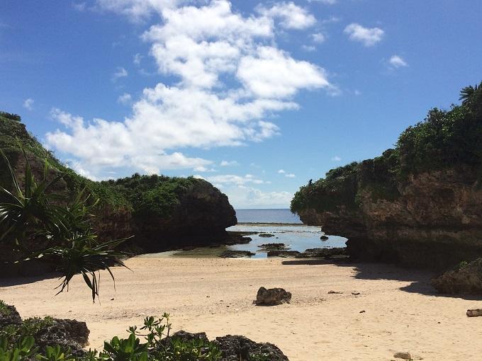 沖永良部島で一番私が好きなビーチ、泊浜。また来れたことがすごく嬉しかった。