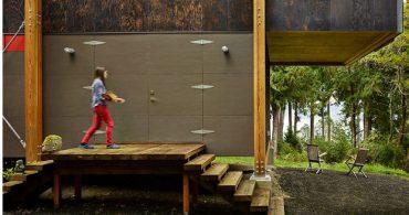 ツリーに包まれてグッドナイト!ピュアな瞬間がいつまでも続く「Eco-Friendly Compact Cabin」