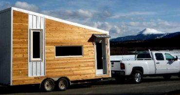 小さな家の愛好家が作ったタイニーハウス「Leafhouse」