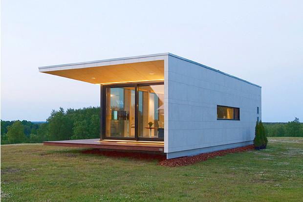 小さくても狭くない、ベッドや家電が壁からとび出す北欧の家「Passion House M1」
