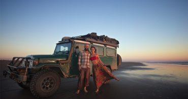 緑色の獣と行く、アメリカ大陸縦断の旅「Sheila The Green Beast」