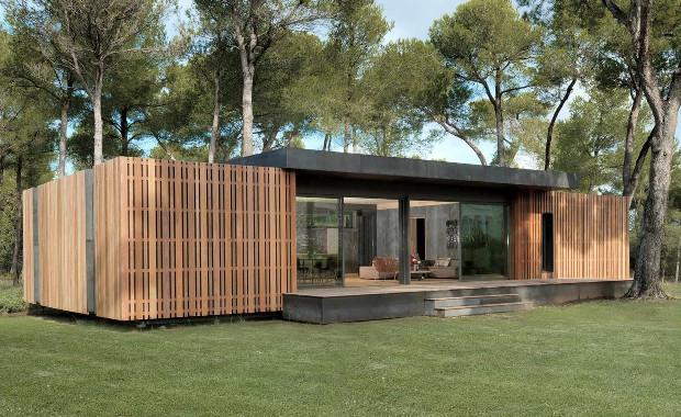 まるでブロックを組むように、簡単に建てられる家は環境にも優しかった「Pop-Up House」