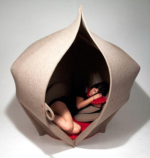 秘密のプライベート空間を持とう「Hush」