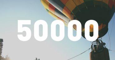 YADOKARI Facebookページ「50,000」いいね!を突破しました!