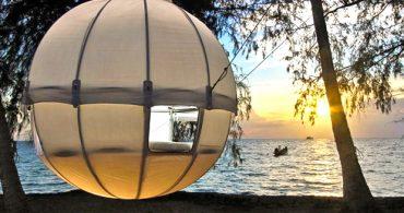 極上の休日に、ゆったりと過ごせるモダンなツリーハウス「Cocoon Tree」