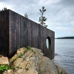 有機的な形がコミュニティを形成するサウナ「Partisans' lakeside Grotto」