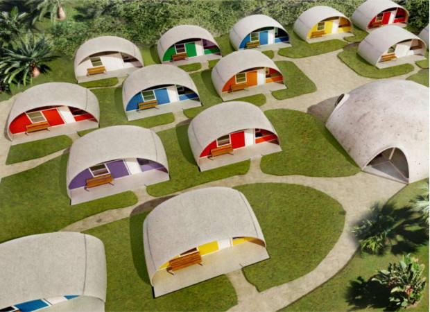 1960年代にこの発想!?やっと時代が追いついた建築方法「Binishell」
