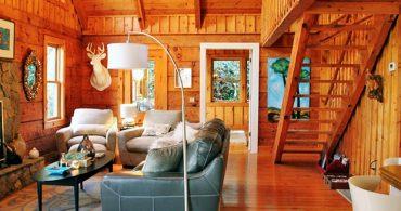田舎暮らしを決意させた、夢のログキャビン「Sweet Dreams Cabin」