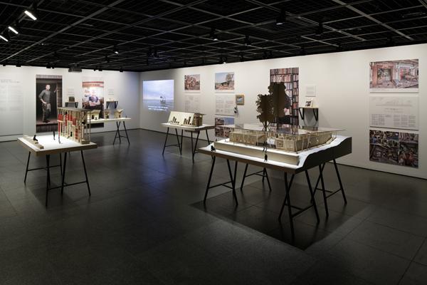 「ギャラリー・間」で行われた展覧会の会場風景 © Nacása & Partners Inc.