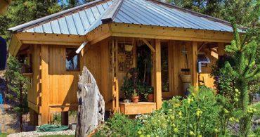 カナダの山のサンクチュアリ「Quietude – A Mandala」