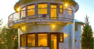 貯蔵庫のサイロが別荘に大変身「Monte-Silo House」