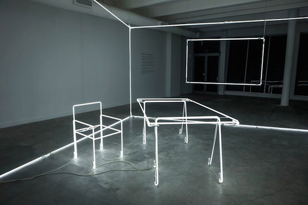 1-massimo-uberti-neon-tubes-installation-for-bentley-at-design-miami-2014