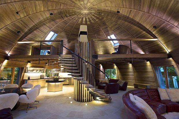クリエイティブな発想を誘発するドームハウス「The dome home」