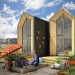 """""""高い家賃""""を覆す、24時間で建てられる低コストプレハブ住宅「Heijmans ONE」"""