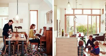 電子機器はほぼゼロ、スローな子育てを楽しむ家「The Unplugged Home」