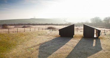 360度回転するアーティストのためのスタジオ「The Observatory: The Study and The Workshop」