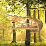 樹木を抱き、自然に抱かれるリゾートコテージ「E'terra Samara」