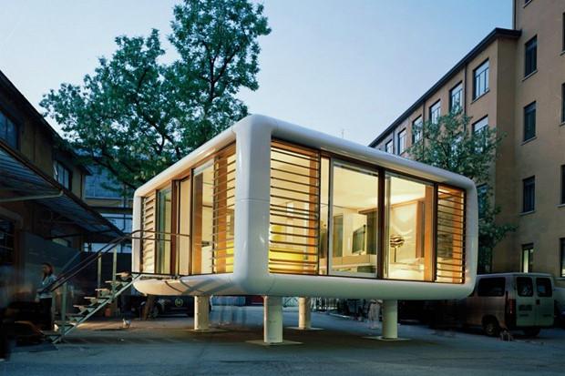 素朴で器用、3日で建ち、3つの顔を持つお家「Loft cube」