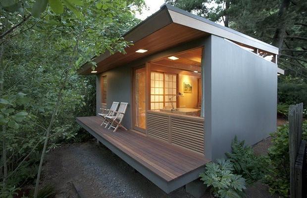 親子2世代に受け継がれたスモールハウス「Zen Teahouse」