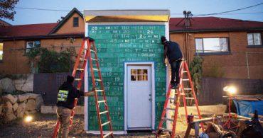 シアトルの高校生が建てる、ホームレスキャンプのスモールハウス「Impossible City」