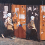 記憶を語るイランの壁―肖像画家Darvish Fakhrが捉えたもの