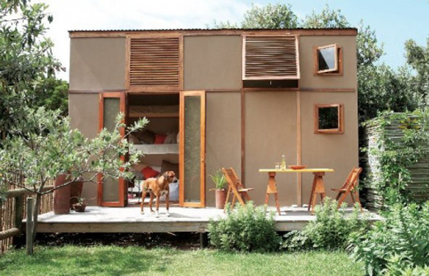 プレハブの固定概念が変わる、美しい22㎡の小屋「My First Home」