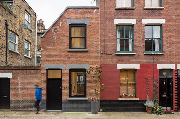3階建ての家に生まれ変わった、ロンドンの小さな作業小屋「WINKLEY WORKSHOP」