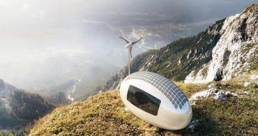 ほんとうの自由を実現する、オフグリッドの移動カプセル「Ecocapsule」
