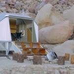 インスピレーションを誘発する、砂漠のシェルター「Wagon Station Encampment」