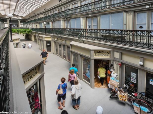 僕のお家はショッピングモール、アメリカ最古のアーケードがマイクロアパートに「Westminster Arcade」