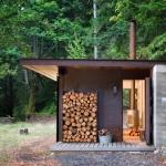 大自然に「間借りする」、自然とつながるミニマルな家「Gulf Islands Cabin」