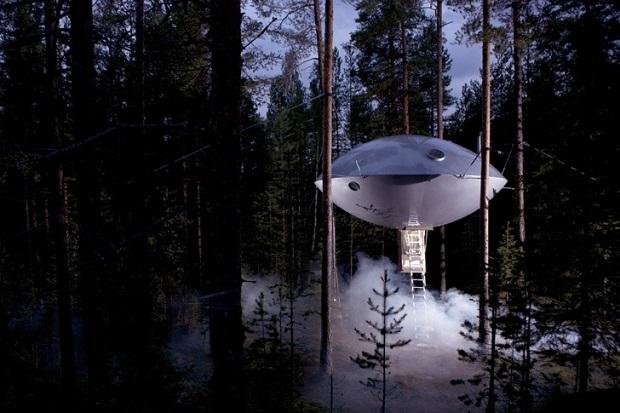 スウェーデンの森に出没した宇宙からの訪問者?!「The UFO」