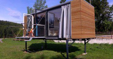 シンプルは柔軟だ。コンテナハウス「gerhardfeldbacher's Container House」
