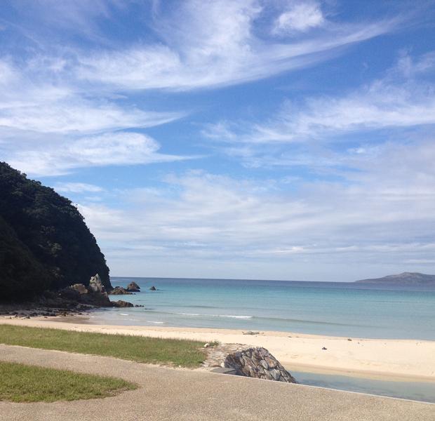 これほど美しいビーチが長崎県五島列島にあるとは行くまで知りませんでした。