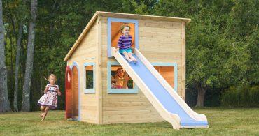 子供よろこぶアソビの拠点、カスタマイズ可能な子供用の小屋「play house」