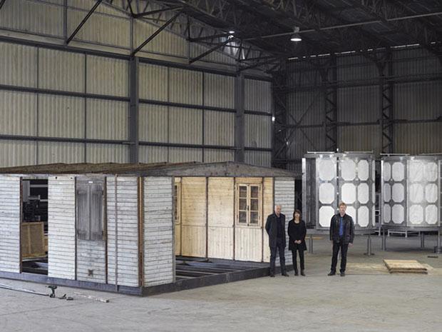 巨匠デザイナーの小屋をアップデート!6m x 6mのシンプルな家「6×6 prefab shelter」