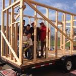 設計して施工して販売する、中高生とつくるモバイルハウス「Studio H Tiny House Workshop」