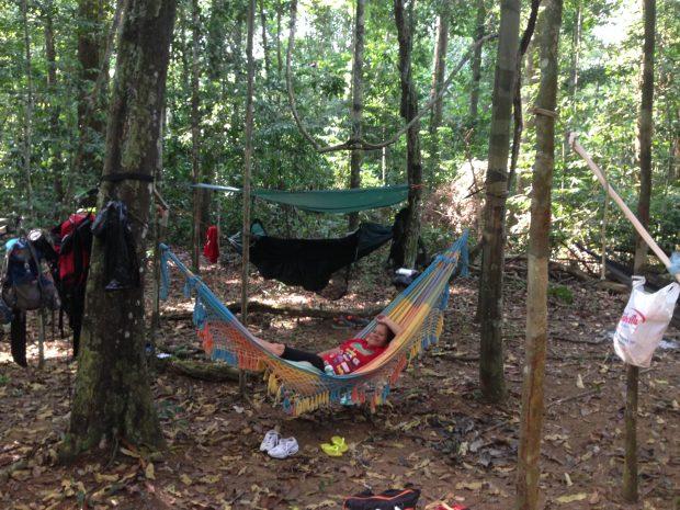 マラリアを媒介する蚊がいても、現地の方々は蚊帳いらず。