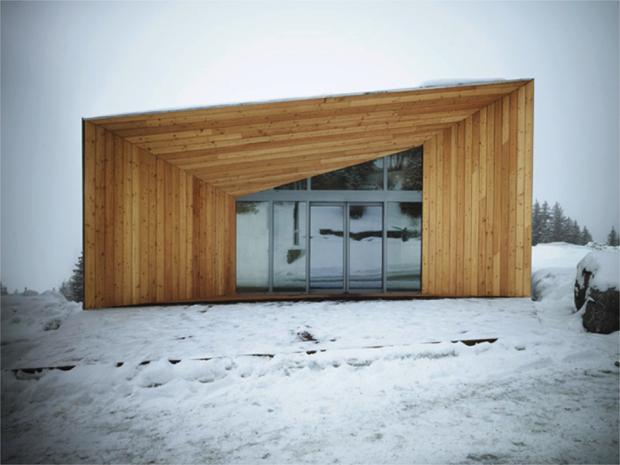 巨匠のデザインを受け継ぐリゾートの小屋「PAVILLON D'ACCUEIL DE FLAINE」