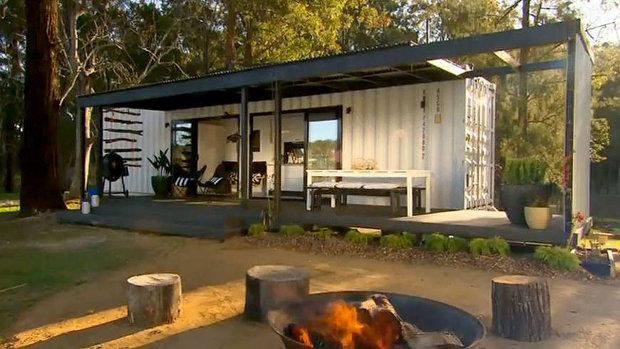 空間も金額も手に負える家がいい、5万ドル以下で作ったコンテナハウス「Richie's $50k Container House」