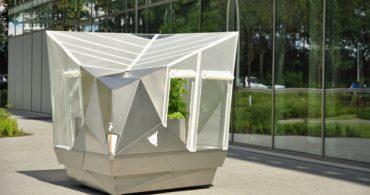植物と共にあちこちへ、移動する温室「Cucumis mobile」