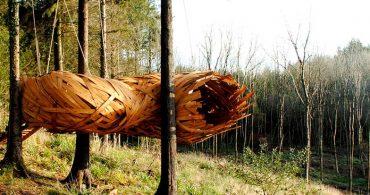建物の本質を問い直す、繭の形のツリーハウス「Cocoon」