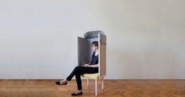 """日常を""""スマホ""""から切り離す、オフラインを楽しむ椅子「Offline chair」"""