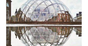 開放的で自然に優しい未来型ドーム「Dorm of visions」