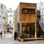 組み合わせは無限大! キューブを重ねて建てる家