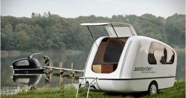 ボートにもなるキャンパーでアウトドアライフを楽しもう!水陸両用キャンパー「sealander」