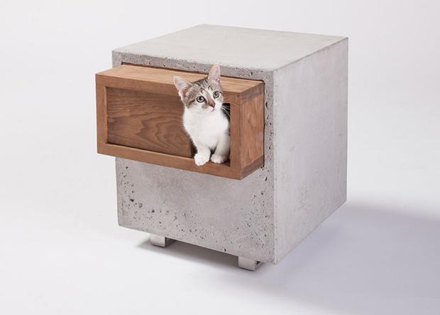 12人の建築家が建てた、猫の小さな暮らし方「cat shelters」
