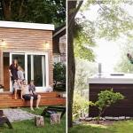 物置小屋を変身させた、家族5人のセカンドハウス「Lanesville Outbuilding」