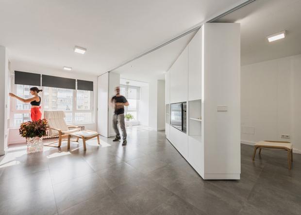 生活に合わせて自由に間取りを変える、動かせる壁「casa MJE」